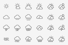 Ubime — Icons by Forma and Co, via Behance