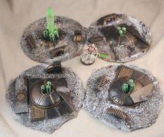 Necron Terrain Wargames Warhammer 40k Wargaming D&d Scenery 25mm Warmachine 5e