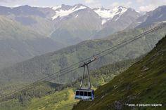 Mount Alyeska Aerial Tram, no Alasca - o bondinho aéreo com as melhores vistas dos EUA (DEMAIS!)