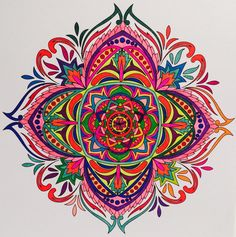 ColorIt Mandalas to Color Volume 1 Colorist: Jan Long #adultcoloring #coloringforadults #mandalas #mandala #coloringpages