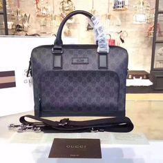 8c2455cff54 Gucci GG Brifcase Bag 100% Authentic 80% Off