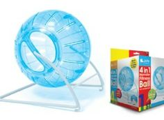 4 in 1 Hamster Ball Large Blue