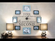 Family Photos Wall Clock Video Tutorial | The WHOot