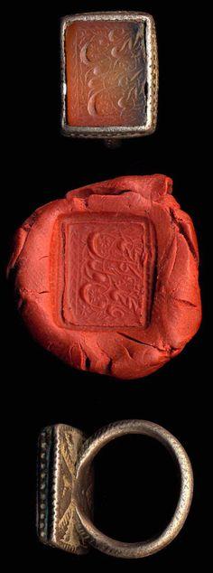 Ancient signet ring..signed sealed delivered