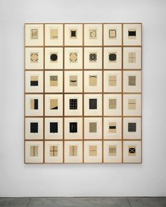 ⌼ Artistic Assemblages ⌼ Mixed Media, Journal, Shadow Box, Small Sculpture & Collage Art - Zarina Hashmi - 36 woodcuts with urdu text