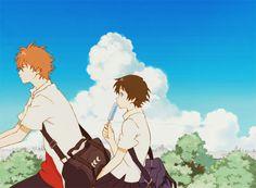 Makoto and Chiaki -- Girl Who Leapt Through Time (Toki wo Kakeru Shoujo)