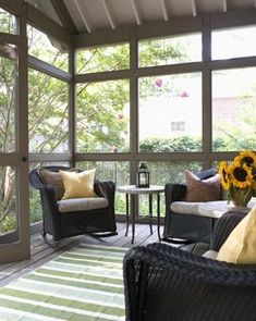 Decorating a Screened in Porch | Sleeping Porch - Porche Designs - Decorating Ideas - Rate My Space