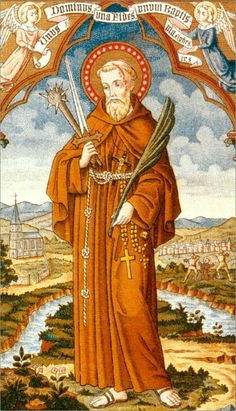 Saint of the Day – April 24 – St Fidelis of Sigmaringen Priest and Martyr 1577-1622 #pinterest If a poor man needed some clothing, Fidelis would often give the man the clothes right off his back. Complete generosity to others characterized ..........| Awestruck.tv