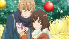 As the girls gossip about plans for the Christmas season, Erika puts back on her wolf-like ears to claim that she and Kyoya have planned some great moments together for their time away from school. Description from otakuspirit.com. I searched for this on bing.com/images