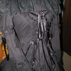 Japanese Frenchmaid Gothic Lolita Dress Corset by FortuneCrafts, $125.00