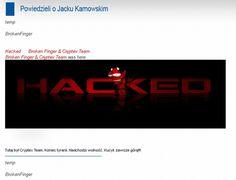 """W maju 2013 roku hakerzy z grupy Cryptex Team dokonali włamania na stronę prezydenta miasta Sopot. Pozostawili informacje o treści: """"Koniec tyranii. Nadchodzi wolność. Kucyk zawsze górą!!!!"""". Umieścili również informacje o aferze dotyczącej sprzedania mola w Sopocie i afery Amber Gold."""