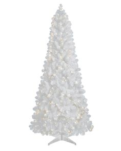Treetopia Basics - White Artificial Christmas Tree, 4 Feet, Clear Lights > Additional details found at the image link  : Garden Christmas Decorations