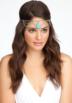 Stone & Chain Headpiece
