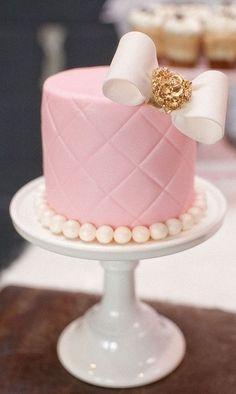 Pink lemonade birthday party - cake idea