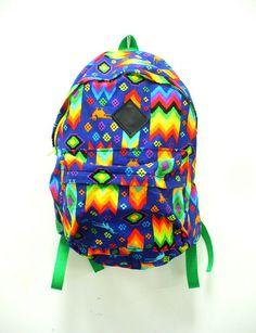 aztec rainbow backpack