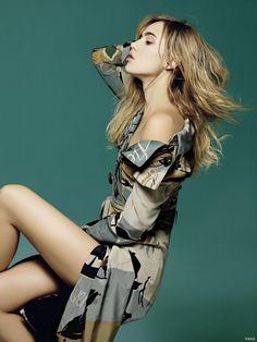 Suki Waterhouse by Tim Ho for Vogue Taiwan February 2015 [Fashion]