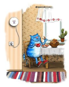 no for SWAP - Blue Cats by Irina Zeniuk – – album na Rajčeti Crazy Cat Lady, Crazy Cats, Image Chat, Cat Colors, All About Cats, Blue Cats, Cat Drawing, Dog Art, I Love Cats