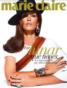 Marie Claire Mexico and Latinoamerica - Ese lunar que tienes… La Super Modelo Que Marcó La Historia.