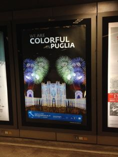 This is what @randyklein tweets about #WeAreinPuglia campaign: Puglia billboard on the #underground #london #londonist   Thanks Randy!