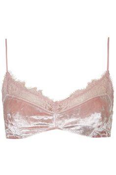 Tiptop Pink Velvet Soft Bra
