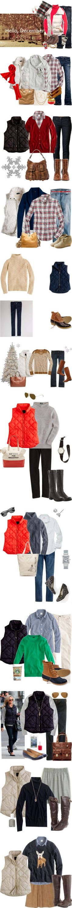 """""""Quilted vest"""" by redrobin21 ❤ liked on Polyvore"""