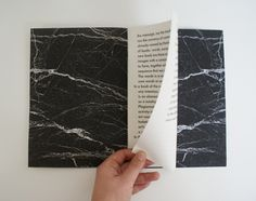 /// marble print book covers