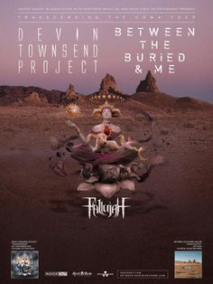 Two of progressive metal's most influential bands — BETWEEN THE BURIED AND ME and Devin Townsend Project — will join forces for the Transcending The Coma co-headlining tour this F…