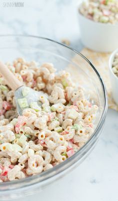 Low-Fat Skinny Macaroni Salad: 198 calories | 6 SmartPoints