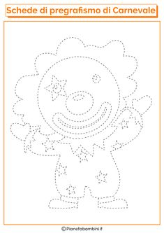 Clown Crafts, Art For Kids, Crafts For Kids, Activities For 2 Year Olds, Kindergarten Lessons, Paper Embroidery, Montessori Materials, Pre Writing, Art School