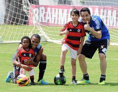 Clube de Regatas do Flamengo - Treino do futebol profissional - CT de Vargem Grande -12-10-2013