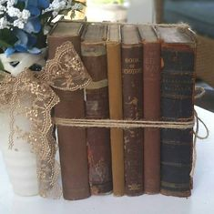 Book Centerpieces, Wedding Centerpieces, Old Books, Vintage Books, Etsy Shop, Rustic, Living Room, Trending Outfits, Unique Jewelry