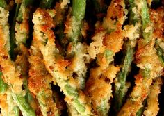 Panko Fried Green Beans with Wasabi Cucumber Ranch Dip Recipe | Appetizer Recipes | Savory Sweet Life - Easy Recipes from an Everyday Home Cook