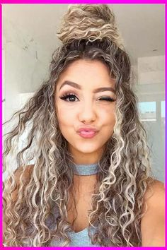 Try to and enjoy this cute and stylish looking hairstyle. #hairstyles #haircuts #hairstylesforshorthairs #shortcurlyhairstyles #naturalcurlyhairstyles #curlhairs #americanhairstyles #curlybraidedhairs #curlyhairstylesforwomen #hairtrendsforshorthairs #fashion #haircolorsforbrunettes #longtoshorthair #christmashairstyle #hairtrends #longhairstylesforcurlyhairs #besthairstylesforwomen #hairfashion #beautytips #haircolors #latestfashion #newhairstyles Curly Hair Styles, Curly Hair Cuts, Long Curly Hair, Modern Hairstyles, Easy Hairstyles, Straight Hairstyles, Viking Hair, Edgy Hair, Wedding Hair Down