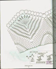 "Photo from album ""Ondori Classic Crochet Lace on Yandex. Crochet Doily Diagram, Crochet Chart, Crochet Doilies, Crochet Lace, Crochet Patterns, Crochet Ideas, Mantel Redondo A Crochet, Knitting, Classic"