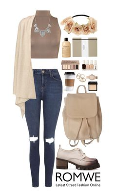 """""""Romwe 2"""" by scarlett-morwenna ❤ liked on Polyvore featuring Topshop, WearAll, Vince, Coach, NARS Cosmetics, FOSSIL, Essie, Urban Decay, philosophy and Shinola"""