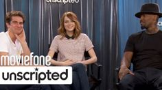 Watch Andrew Garfield, Emma Stone, and Jamie Foxx answer unscripted fan questions >> http://www.moviefone.com/unscripted