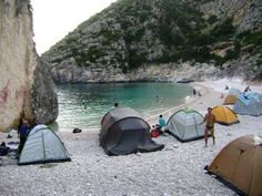 Camping/beach/Albania