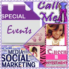 QUEEN B's INVESTMENTS IS NOW EXPANDING TO PROMOTING EVENTS FOR BUSINESSES. IF YOU HAVE COMMUNITY EVENTS, SHOWS, FESTIVALS, JOB FAIRS, ETC THAT YOU WANT TO MARKET  I WILL BE MORE THAN HAPPY TO ASSIST YOU. I CHARGE A SMALL FEE OF $3 PER DAY. IF YOU ARE INTERESTED IN MY SERVICES FEEL FREE TO INBOX ME, EMAIL ME @ queenbsinvestmentscompany@yahoo.com, OR CALL MY BUSINESS PHONE @ 9542398915 OR 17547038222!!!! #business #queenbsinvestments #events #contactme #promo #contactmenow #promotions