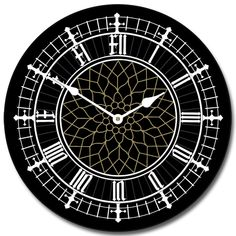 The Big Clock Store Big Ben Black Wall Clock, Available in 8 sizes, Most Sizes Ship days, Whisper Quiet. Big Ben Tattoo, Big Ben London, Peter Pan, Clocks Go Back, Big Ben Clock, Black Clocks, English Decor, Clocks For Sale, Silhouette