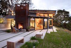 Precioso exterior de Feldman Architects