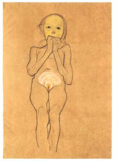egon schiele sick girl - Google Search
