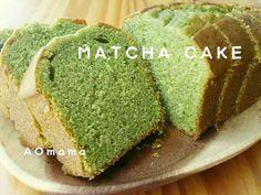 濃厚☆抹茶のしっとりパウンドケーキ