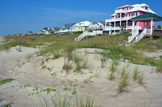 Oceanfront homes in Emerald Isle, NC