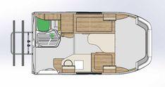 Obytná Lada přináší svěží vítr do světa kempování, překvapí i cenou | Auto.cz Camper, Floor Plans, Mirror, Furniture, Home Decor, Caravan, Decoration Home, Room Decor, Travel Trailers
