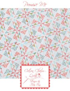 PDF Promise Me Layer Cake Quilt Pattern by Cotton Charm Quilts, Inc.
