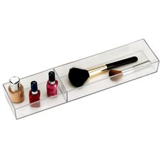 2-Section Stacking Tray - Bottles & Brushes