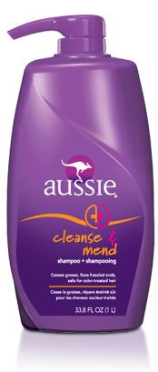 """my favorite shampoo!   I have oily hair that must be washed everyday. When I use this I can skip a day. I love the fresh scent, too. Not the original """"grapey"""" smell of Aussie products."""