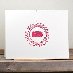 Christmas Card / Holiday Cards / by SweetBellaStationery on Etsy, $18.00