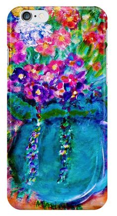 New! Stunning iPhone Case Covers - Top Picks designed by artist and designer Marie-Jose Pappas of Innocent Originals. Summer Day Flowers Designer Art Gifts.
