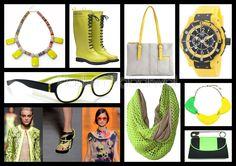 Trend Accessories: Neon Brights - S/S 2012